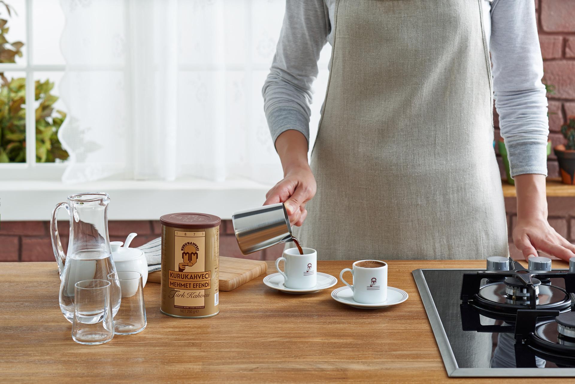 Рецепт приготовления кофе в турке (джезве)